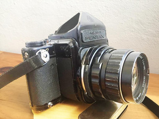 Cámara De Medio Formato Pentax-6x7 + Lente F2.4/105mm