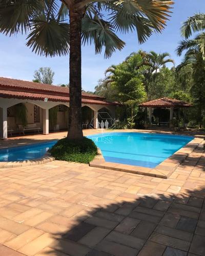 Vende-se Lindíssima Casa Térrea Em Área Rural (limite Das Cidades Jundiaí - Louveira Com Saída Facilitada Para A Cidade De  Itatiba. Rodovia Don Pedro - Ca01276 - 69029317