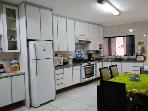 Imagem 1 de 30 de Sobrado, 173 M² - Venda Por R$ 700.000,00 Ou Aluguel Por R$ 2.800,00/mês - Parque Jaçatuba - Santo André/sp - So4099