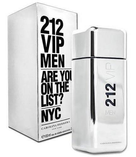 Perfume Masculino 212 Vip Man 100ml Carolina Herrera