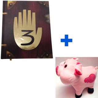 Gravity Falls Combo Diario 3 Español + Peluche Pato 27cm