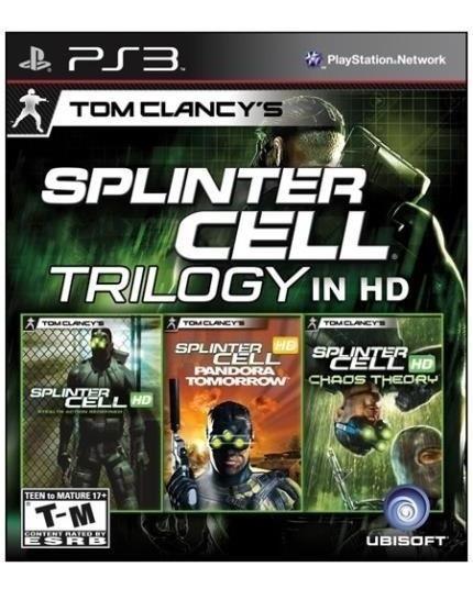 Splinter Cell Trilogy Hd (mídia Física) - Ps3