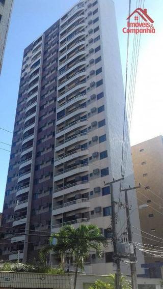 Apartamento Com 02 Suítes, Nascente, Bairro Meireles, Próximo Academias, Restaurantes, Supermercados E Padarias !! - Ap1596