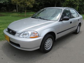 Honda Civic Lx 1996 Bajo Kilometraje