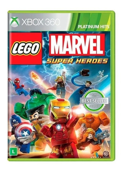 Lego Marvel Super Heroes Xbox 360 - Nacional - Mídia Física - Rj