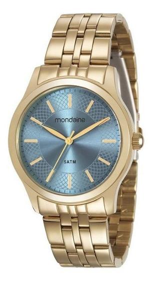 Relógio Mondaine Pulso Feixo Metal Femin Adulto 78746lpmvda1