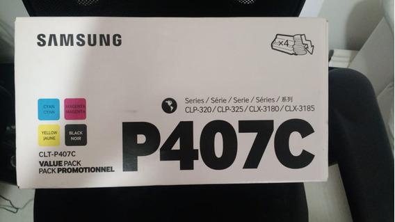 Tonner Para Impressora Samsung Laser Colorida Mod. P407c Nov
