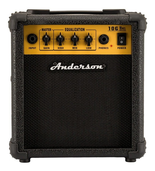 Ross - Anderson G10 Amplificador De 10w Para Guitarra
