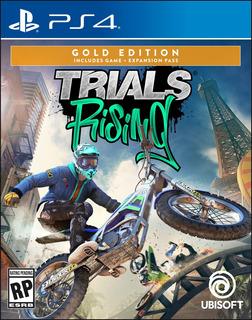 Pre-orden Videojuego Trials Rising Gold Edition Playstation