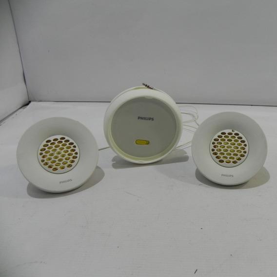 Caixa De Som Philips Spa3251 C/ Plug Usb - 2 W - Usado