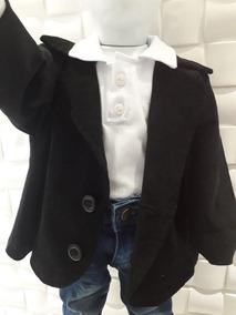 Blazer Veludo Infantil Bebe Festa Menino 1 A 4 Anos