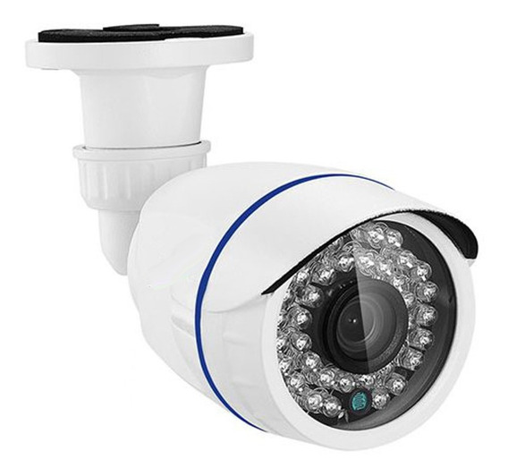 Camera Seg Hd 720p 1 Mp Ir 30m 2.8mm 4x1 Ahd/ Cvi/ Tvi/ Cvbs