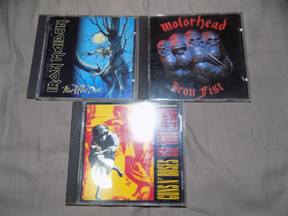 Iron Maiden, Motorhead, Guns And Roses, Cds Importados