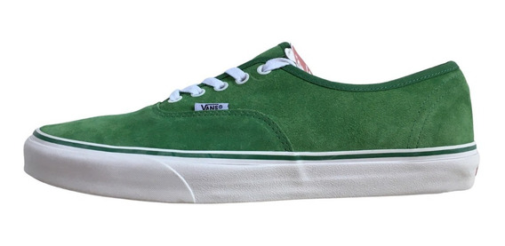 Vans Authentic Suede Green (gamuza)