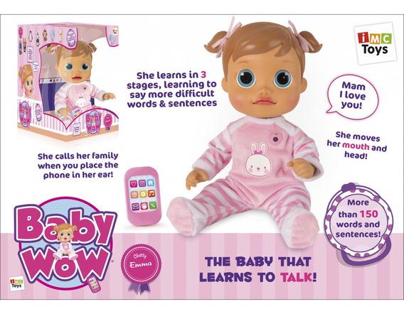 Boneca Baby Wow Analu