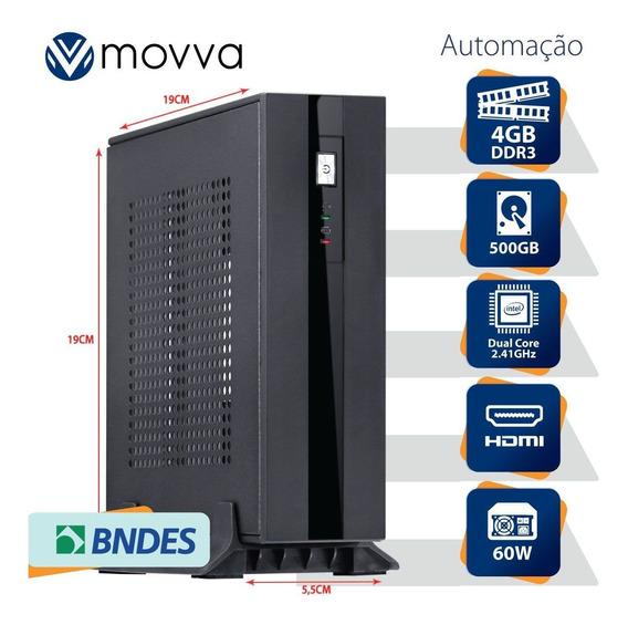 Mini Computador Dual Core 4gb Hd 500gb Fonte Externa 60w