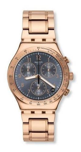 Relógio Swatch  Elegantum Ycg418g Aço Rosé Original