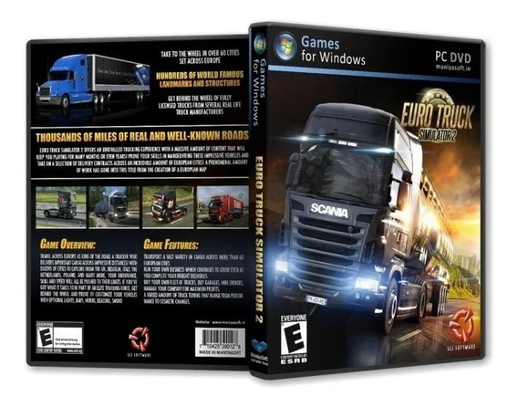 Euro Truck Simulator 2 Pc Português Envio Digital