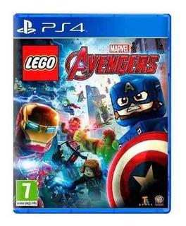 Lego Marvel Avengers Vengadores Ps4 Fisico Sellado Nuevo.