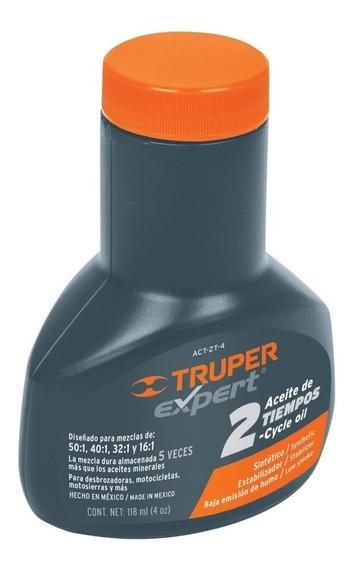 Aceite Sintetico Para Motor 2 Tiempo Truper 17624