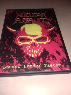 Nuclear Assault - Dvd Louder Harder Faster