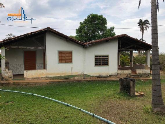 Fazenda Com 3 Dormitórios À Venda, 387200 M² Por R$ 1.600.000 - Zona Rural - Anápolis/go - Fa0052