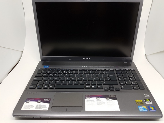 Notebook Sony Vaio Modelo Vpcf 135fb-tela 16,4¨ Fullhd-intel I5-placa Nvidiageforce