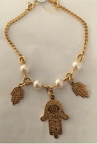 Pulseira Gold Egypt Banhada A Ouro