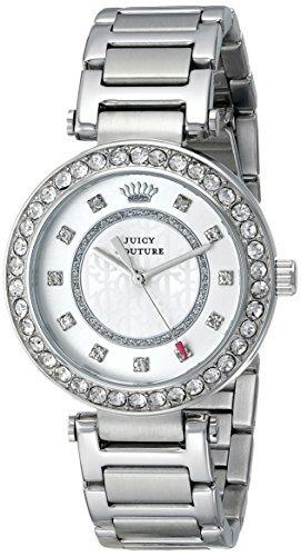 Juicy Couture - Reloj De Cuarzo De Acero Inoxidable Luxe