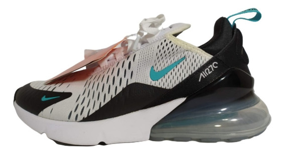 Tenis Nike Air Max 270 Dusty Cactus Branco E Verde Original