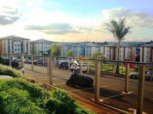 Apto. Ed. Resd. Guilherme Viscardi, Com 2 Dormitórios À Venda, 50 M² Por R$ 95.000 - Nova Olinda - Londrina/pr - Ap0036