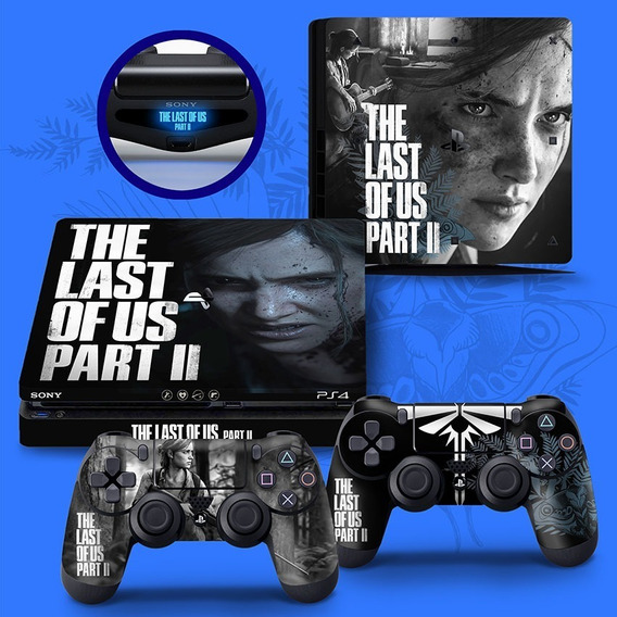 Skin Adesivo Playstation 4 Slim Ps4 The Last Of Us Part 2