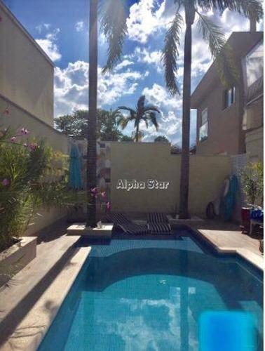 Casa Com 4 Dormitórios À Venda, 333 M² Por R$ 2.150.000,00 - Alphaville 04 - Santana De Parnaíba/sp - Ca3501