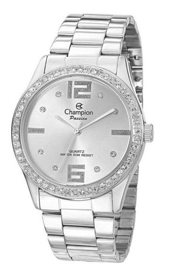 Relógio Feminino Champion Prata Ch24606q