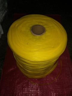 Malla Red Tubular Para Fruta 1kg