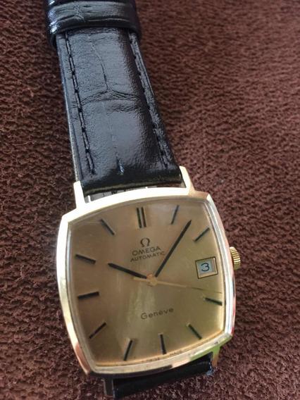 Relógio De Ouro Omega Automatic Genève Aceito Oferta........