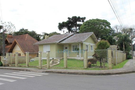 Casa Com 2 Dormitórios À Venda, 197 M² Por R$ 695.000,00 - Palace Hotel - Canela/rs - Ca0509