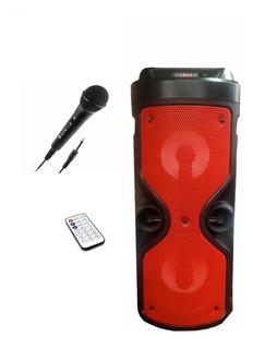 Parlante Bluetooth Portatil Bateria Microfono Fm Colores