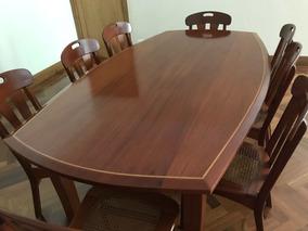 Mesa De Jantar Com 8 Cadeiras Carlos Motta