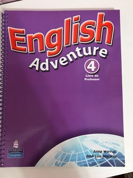 English Adventure 4 Livro Do Prof, Cds E Cdrom