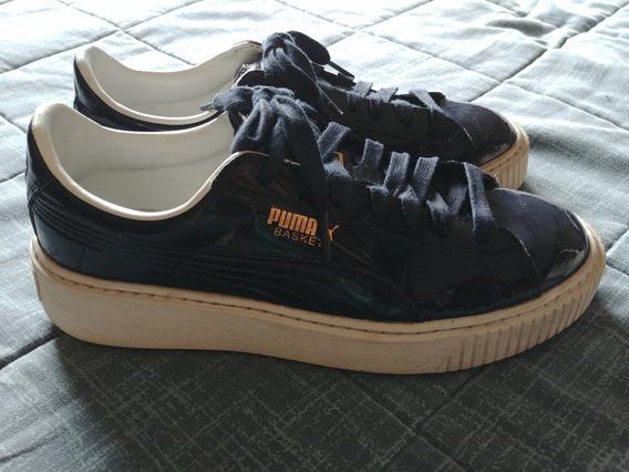 Zapatillas Puma Basket Platform Mujer