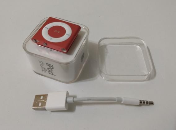 iPod Shuffle 4 Geração 2gb Apple Caixa Cabo Pink - 2f4rt