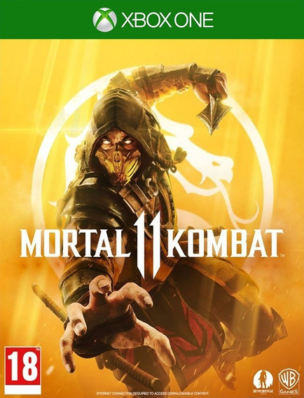 Mortal Kombat 11 Xbox One - 25 Dígitos (envio Flash)