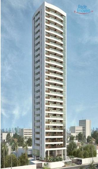 Apartamento Em Olinda, Beira Mar Com 3 Quartos À Venda, 99 M² - Ap10221