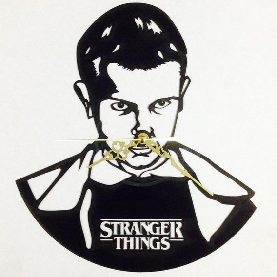 Relojes De Vinil Con Diseños Únicos De Stranger Things