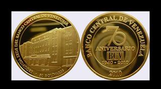 Moneda Aniversario Bcv 1oz Oro 999