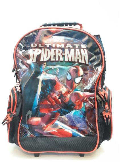 Mochila Carro Ultimate Spider Man 3d - 16 82361