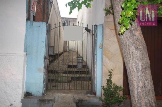 Terreno À Venda, 212 M² Por R$ 600.000 - Cambuci - São Paulo/sp - Te0181