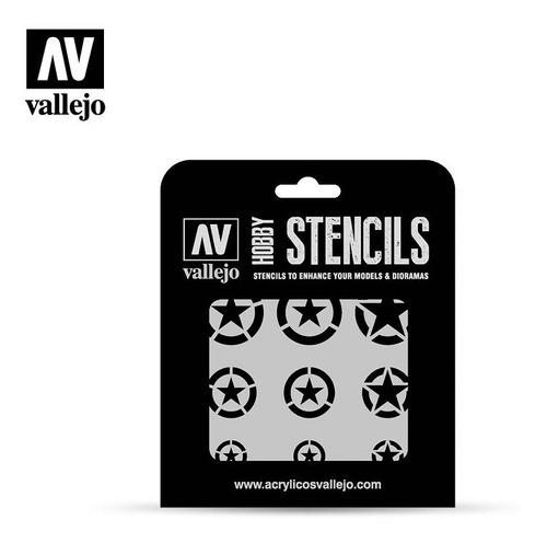 Stencil Marcas Usaf 1/32 1/48 1/72 Vallejo St-air004