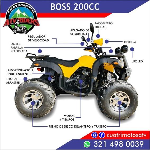Boss Cuatrimoto 200cc 2019 Full Automática